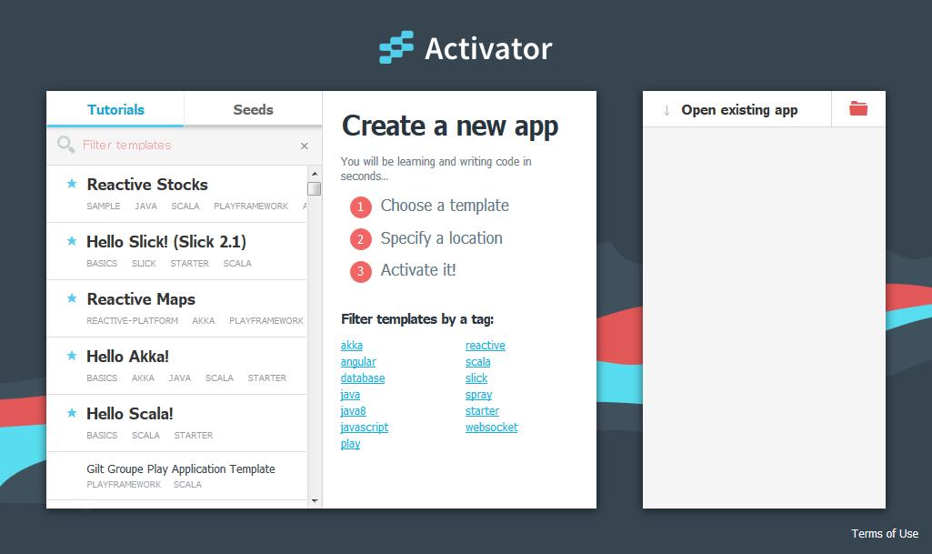 Typesafe Activator-00 startup.png